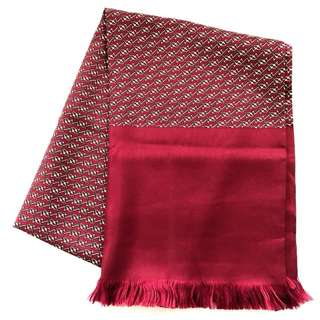 Hermes Pattern Silk Stole