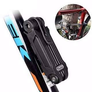 Tonyon Universal Mountain Bike Lock/E-Scooters/Bicycles/Electric Car/Motorcycle/Anti-Theft Folding Chain Lock/Clip/Clamp Lock/Joint lock