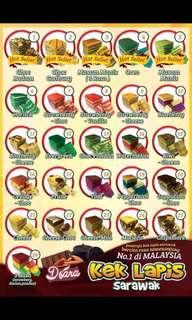 Kek Lapis Sarawak Original Recipe
