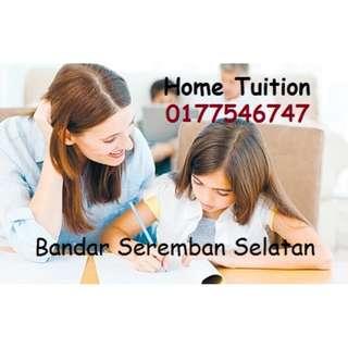 One-to-One Tuition (Bandar Seremban Selatan, Seremban Jaya)