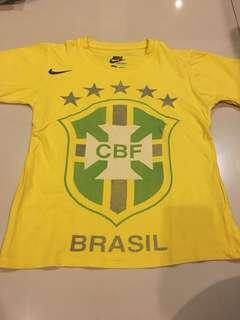 Kaos Sepak Bola Brazil
