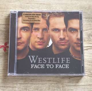 CD: Westlife - Face to Face
