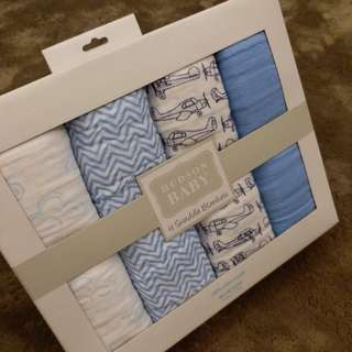 4 Swaddles Blankets