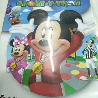 Mickey's sport-y-thon movie DVD