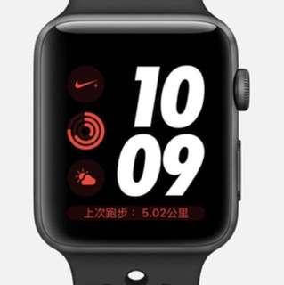 Nike+ Apple Watch S3 GPS 42mm 黑色(非LTE)