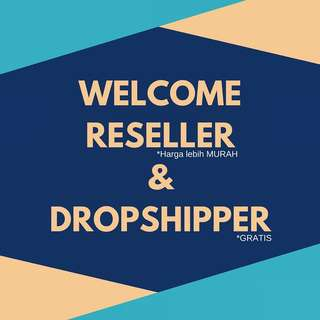 RESELLER & DROPSHIPPER