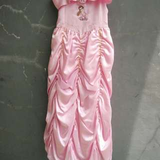 Dress Belle Pink #MakinTebel