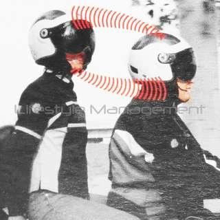 Motorcycle Intercom Wired Helmet to Helmet Headsets Speaker/Microphone Communication Walkie-Talkie Headset Wired