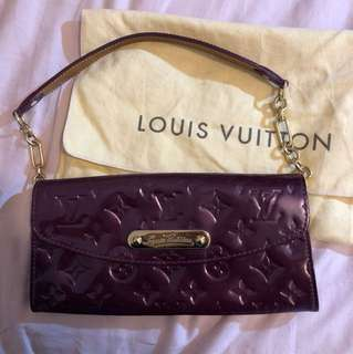 LV Louis Vuitton Vernis Sunset Boulevard Violette