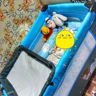 Crib for baby boy