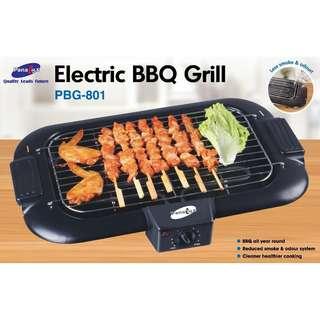 Panalux Electric BBQ Grill - 2000W (PBG-801)