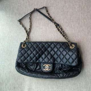 Chanel Lamb Leather Chain Flap Bag有單