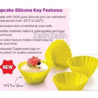 Tupperware silicone mould 4pcs rm20
