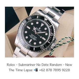 Rolex - Submariner No Date 'Random' (New in Box)