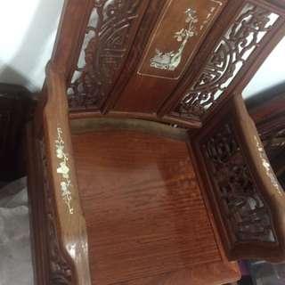 古董紅木椅