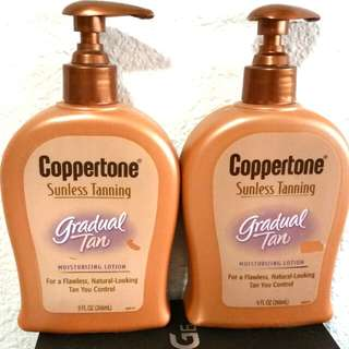 coppertone sunless Tanning