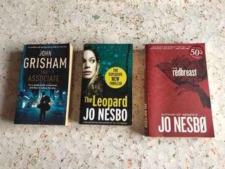 English novels preloved for sales