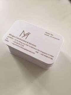 Instant print nAmecard