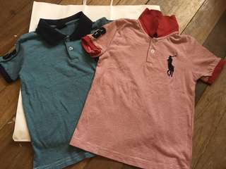 Tots polo shirts bundle (3-4y)