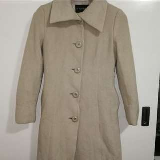 Coat good condition wool type and small size
