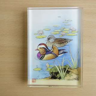 Duck in Water Rubber Stamp