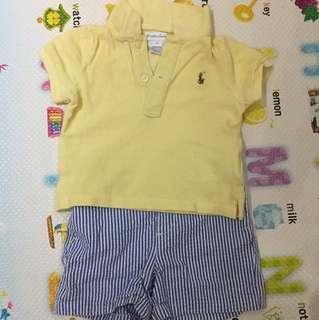 Ralph Lauren Baby set