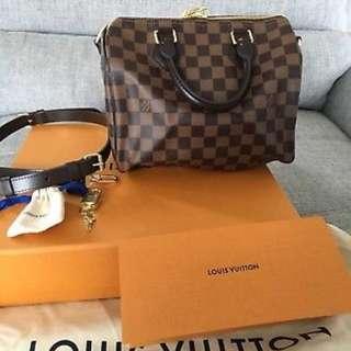 Louis Vuitton Bandouliere Speedy 25