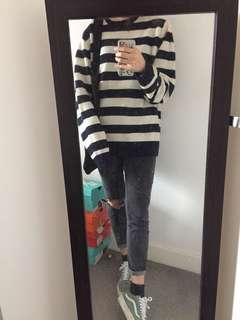 Uniqlo Striped Sweater