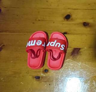 Inspired SUPREME sandals