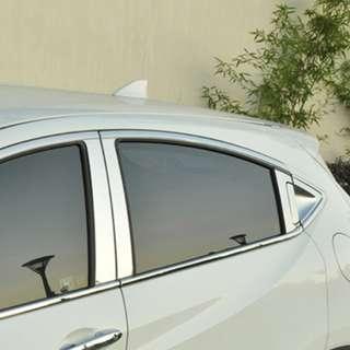Honda Vezel Exterior window chrome trimming