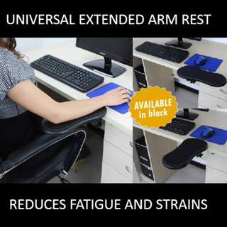 ★[NEW] SALE★ Universal Extended Armrest: Reduce Pressure on Wrist Minimize Muscle Strains and Ease Fatigue While Using the Computer.