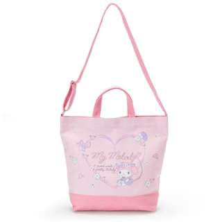 Japan Sanrio My Melody 2 WAY Canvas Tote Bag