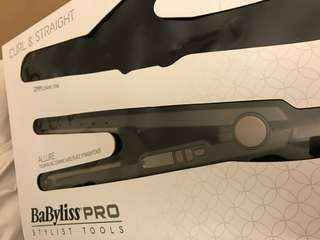 Brand new BaByliss Allure straightener