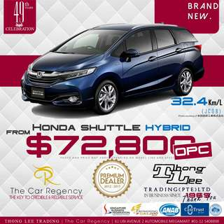 Honda SHUTTLE  HYBRID ( OPC )( NEW CAR) / AIRWAVE