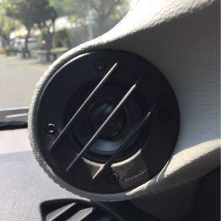 Speaker Full Range Domination 1 set + Pilar Outlander Semarang Murah