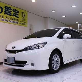 2012年 wish 頂級款 認證車
