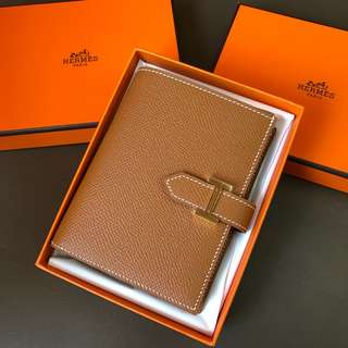 Hermes Bearn Gold color 金扣Epsom皮