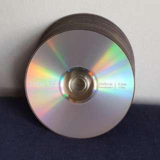 TDK DVD+R 4.7GB 碟15隻連膠筒