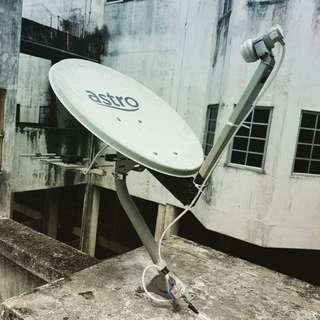 Pasang/Servis MYTV, Ninmedia, Thaicom, IPM, K-Vision