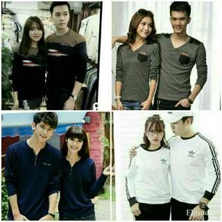 Tee shirt couple/long sleeve tee shirt