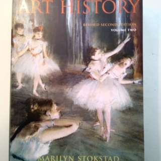 Art History Revised 2nd Edition vol 2 Marilyn Stokstad