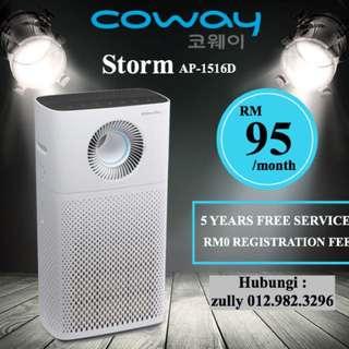 Penapis Udara Coway - Model Storm