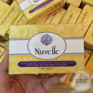 NUVELLE pure vegetable soap