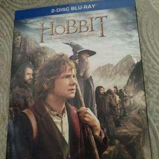 Blu ray, original, Hobbit, 2disc