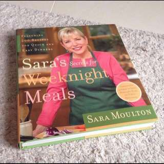 Cookbook - Sara's Weeknight Meals