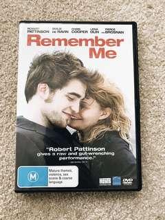 Remember Me DVD