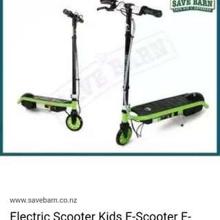 E kick electric scooter