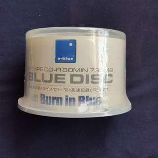 e-blue CD-R 光碟50隻連膠筒