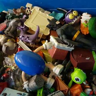 Assorted rare toy collection