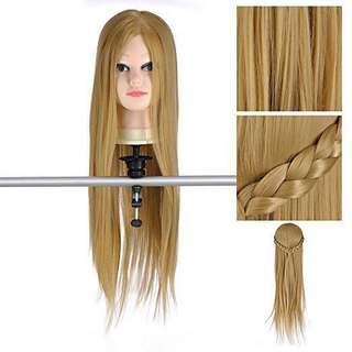 "26"" hair mannequin"